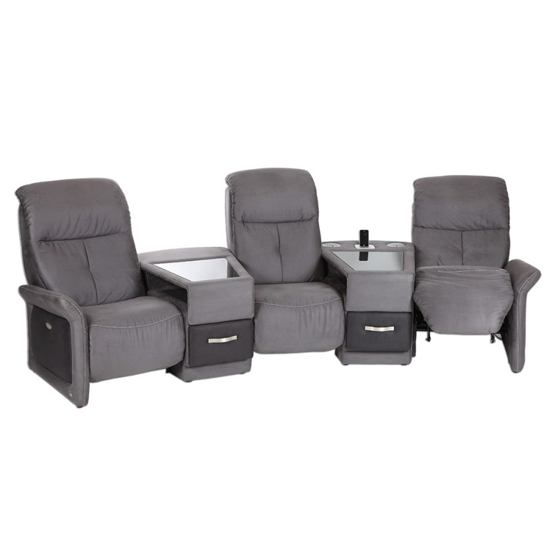 canape 3 places lectriques casting. Black Bedroom Furniture Sets. Home Design Ideas