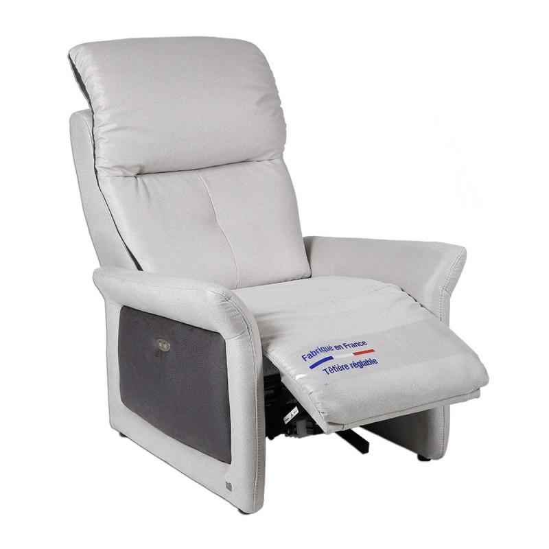 fauteuil relax releveur lectrique casting. Black Bedroom Furniture Sets. Home Design Ideas